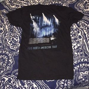 Tops - Shawn Mendes 2015 North American Tour Concert Tee